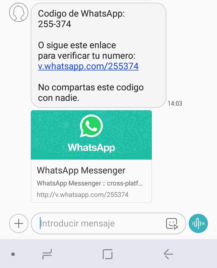 Nueva forma de robar WhatsApp 2