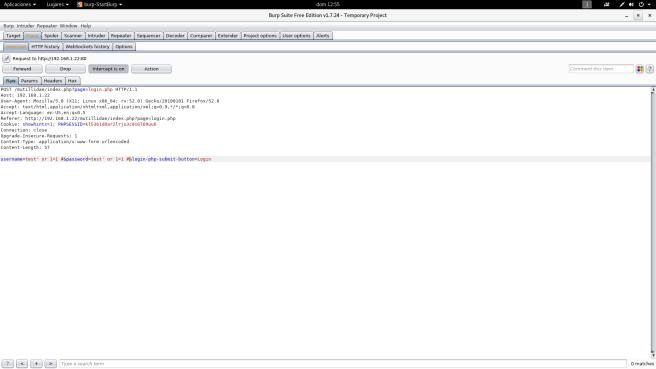 SQLi Login bypass 5