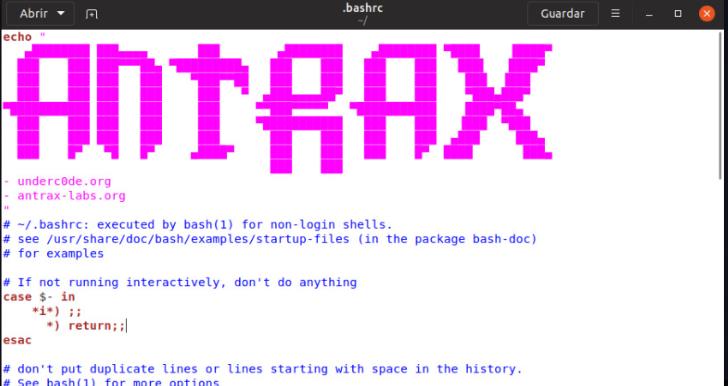 Personalizando la consola de Linux 6