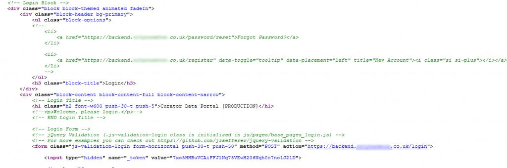 Fallas de seguridad en el código fuente 3