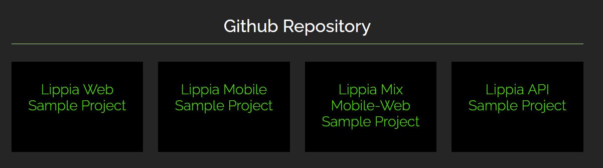 lippia frameworks
