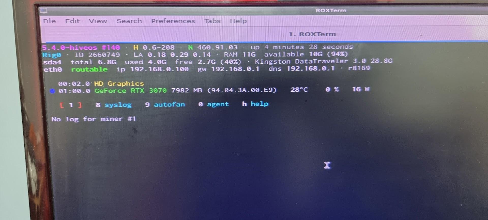 Como armar un rig usando HiveOS (Instalación y configuración) 53